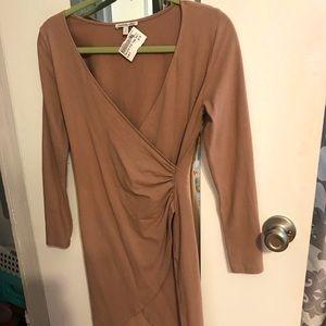 Charlotte Russe Body Con Wrap Dress